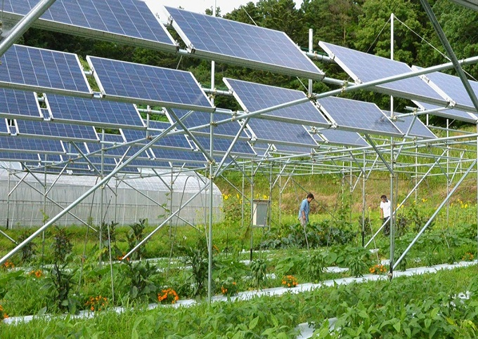 ứng dụng hệ thống điện năng lượng mặt trời