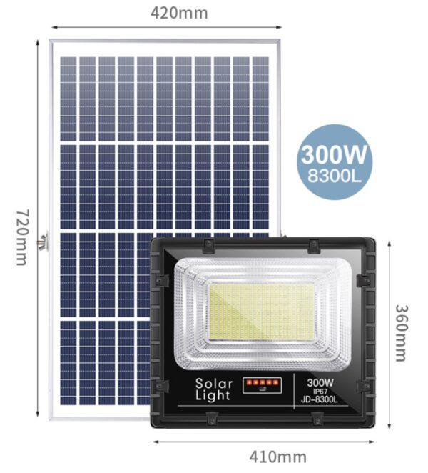 đèn năng lượng mặt trời 300w